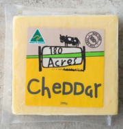 Cheddar Cheese, 180 Acres