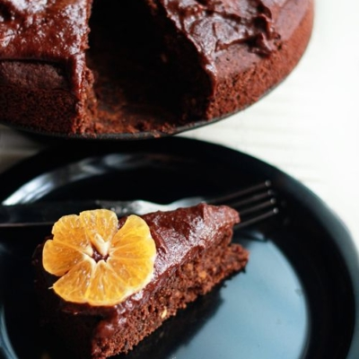 Chocolate Orange Cake (Vegan & Gluten-free)