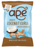 Salted Chocolate Coconut Curls, Ape