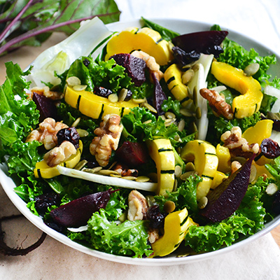 Winter Cleanse Kale Salad Recipe