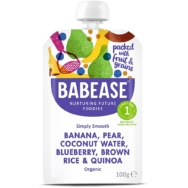 BABEASE BANANA PEAR COCO WATER 100G