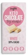 INGFIT KETO CHOCOLATE WHITE 38% CACAO 100G