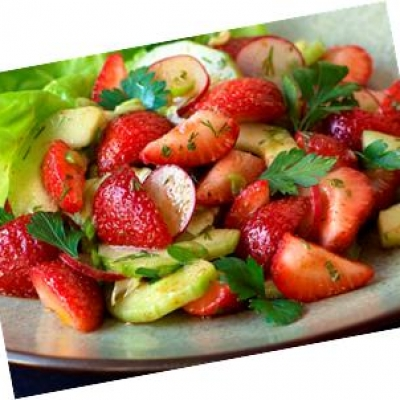Fruity Cucumber Salad