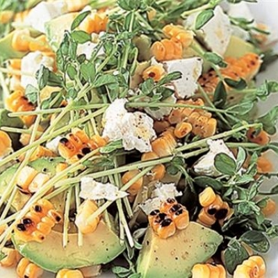 Chargrilled Sweetcorn and Avo Salad