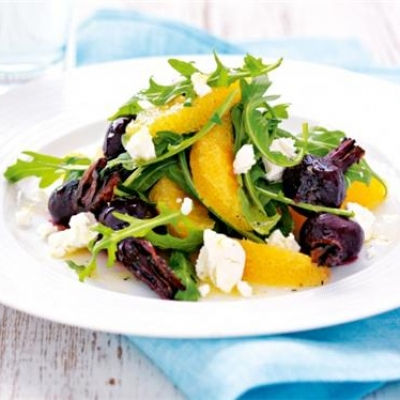 Roast Beet and Orange Salad