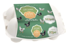 Local Free Range Eggs, Ripe 6Pc Box
