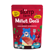 Supergrain Beetroot Milet Dosa Mix, Slurrp Farm