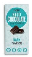 INGFIT KETO CHOCOLATE DARK 75% CACAO 100G