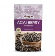 DRAGON SUPERFOODS ORGANIC ACAI BERRY POWDER 75G