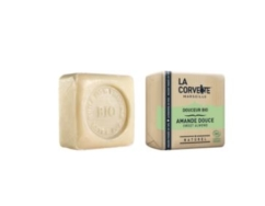 LA CORVETTE MARSEILLE ORGANIC SWEET ALMOND SOAP 100G