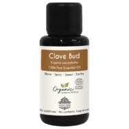 Organic Clove Essential Oil, Aroma Tierra