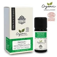 Organic Patchouli Essential Oil, Aroma Tierra