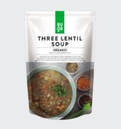 Organic Three Lentils Soup, Auga