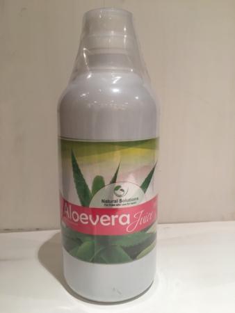 Aloe Vera Juice, Natural Solutions