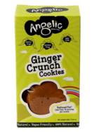 Ginger Crunch Biscuits, Angelic