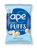 Coconut Lightly Salted Puffs, Ape