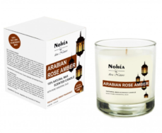 Arabian Rose Amber- Natural Wax Candle, Nohea