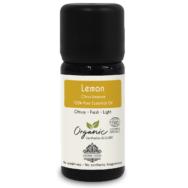Organic Lemon Essential Oil, Aroma Tierra