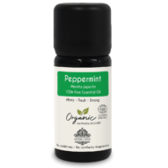Organic Peppermint Essential Oil, Aroma Tierra
