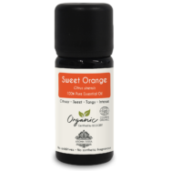 Organic Sweet Orange Essential Oil, Aroma Tierra