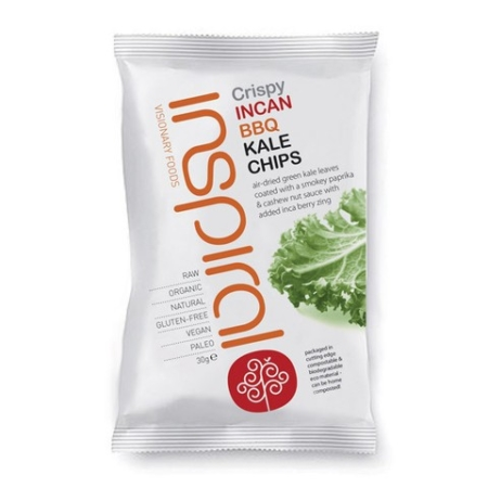 BBQ Kale Chips, Inspiral