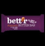 BETTR ALMOND BUTTER BAR 30G