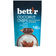 BETTR COCONUT CHIPS FINE PERUVIAN CACAO 70G