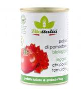 BIOITALIA CHOPPED TOMATOES 400G