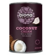 BIONA ORGANIC COCONUT CREAM 400ML