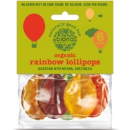 Organic Rainbow Lollies 6 pack, Biona Organic
