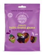 Organic Tutti Frutti Gums, Biona Organic