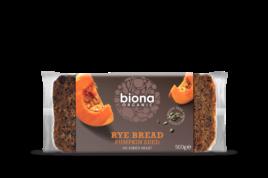 Organic Rye & Pumpkin Seed Bread, Biona