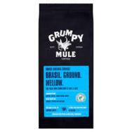 GRUMPY MULE ORGANIC GROUND COFFEE BRASIL 227G