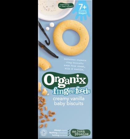 Creamy Vanilla Baby Biscuits, Organix!