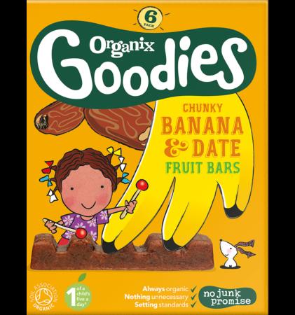Banana and Date Fruit Bars