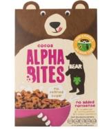 Organic Alpha Bites Cacao, Bear