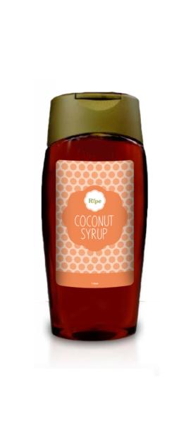 coconut syrup, Ripe