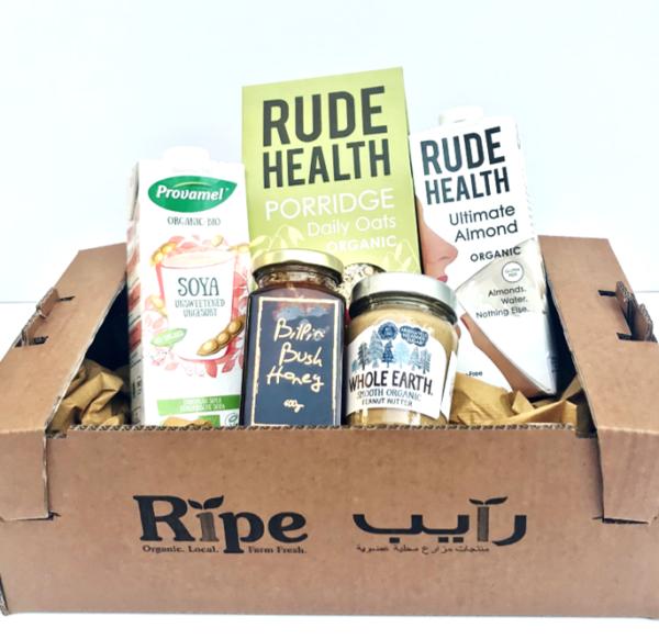 Organic Foods Breakfast Box