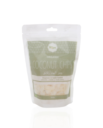 Coconut chips, Ripe