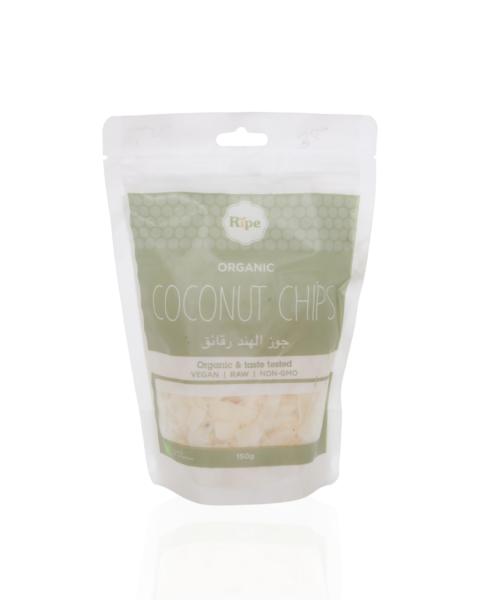 Coconut chips, Ripe