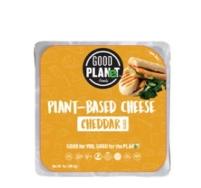 GOOD PLANET FOODS CHEDDAR SLICES 200G