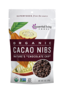 Organic Cacao Nibs, Essential Living Foods