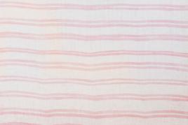 Campania Double Pink Stripe Tablecloth, Georgia Macmillan