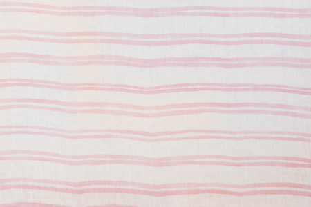 Campania Double Pink Stripe Tablecloth