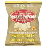 Sweet & Salty Popcorn, Canadian Organic Popcorn