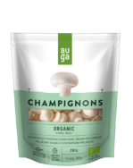 AUGA ORGANIC CHAMPIGNONS WHOLE IN BRINE