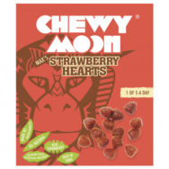 CHEWYMOON STRAWBERRY HEARTS 4X20G