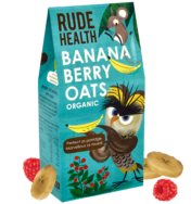 Organic Banana Berry Oats, Rude Health
