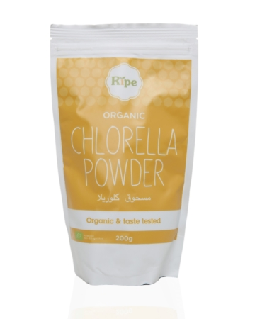 Chlorella powder, Ripe