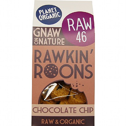 Chocolate Chip Rawkin' Roons